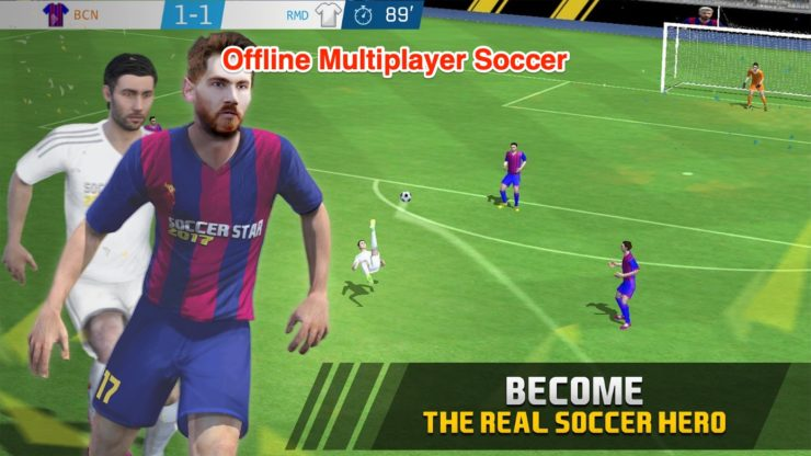 Offline Multiplayer Soccer Games Android Free