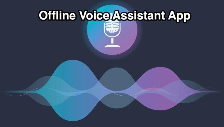Offline Voice Assistant App