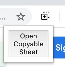 Open Copyable Sheet