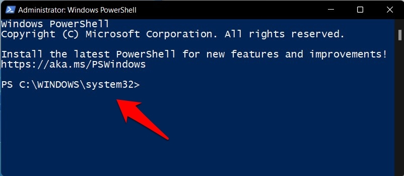 Open PowerShell as an Administrator by Default in Windows 11