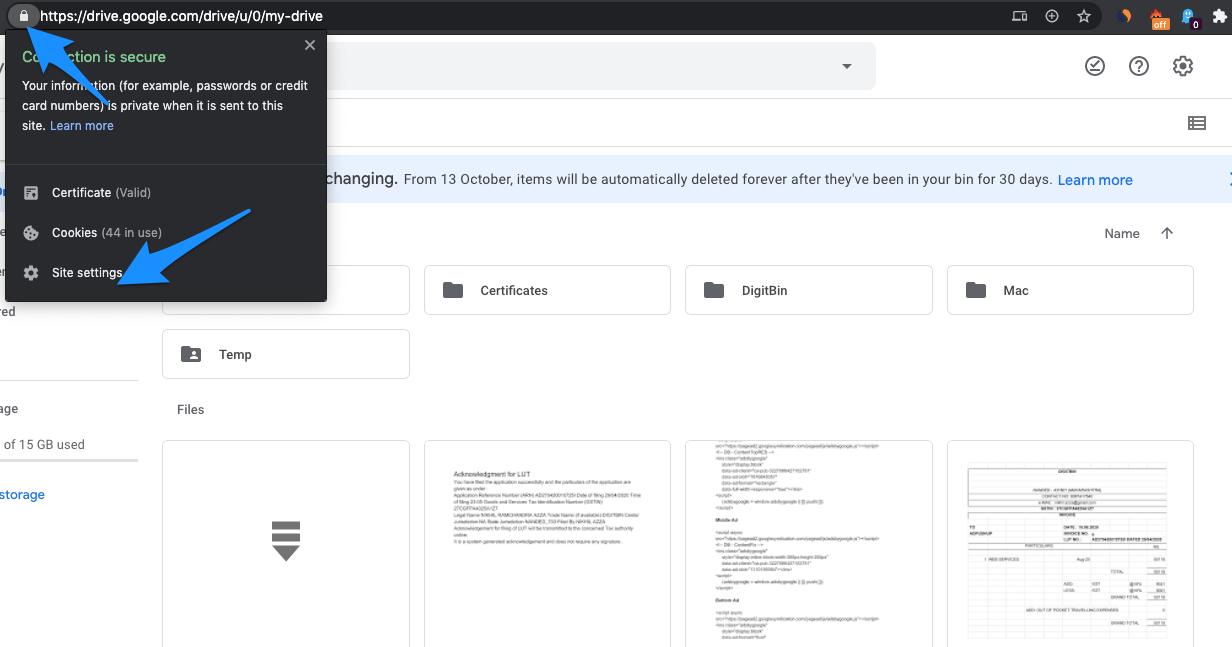Open_Site_Settings