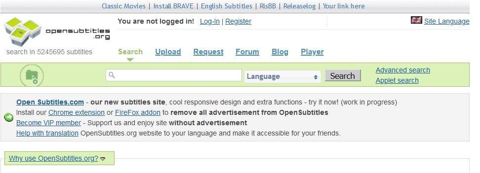 Opensubtitles.org