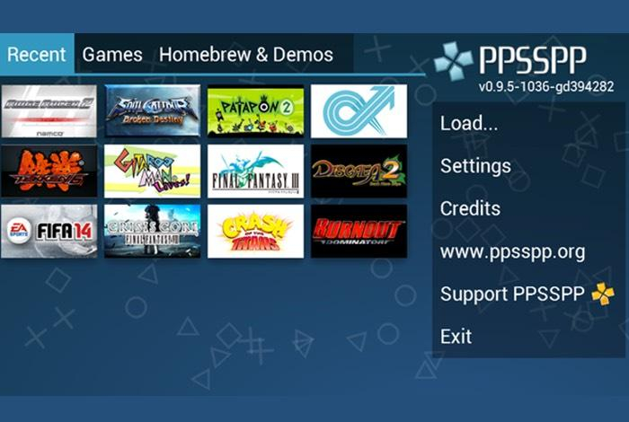 PPSSPP on iPhone and iPad