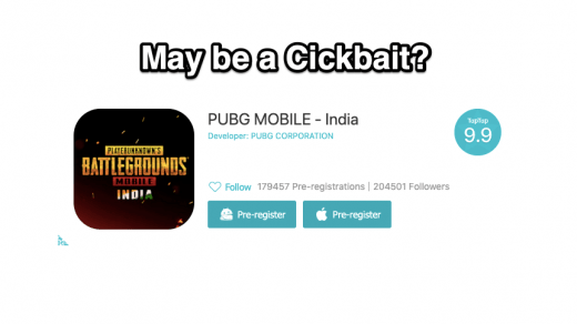 PUBG Mobile India Pre-Register