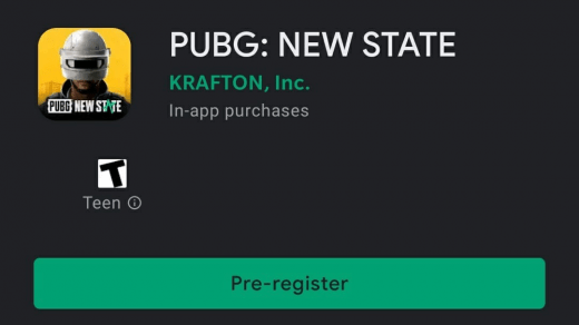 PUBG: New State Pre-Registration India