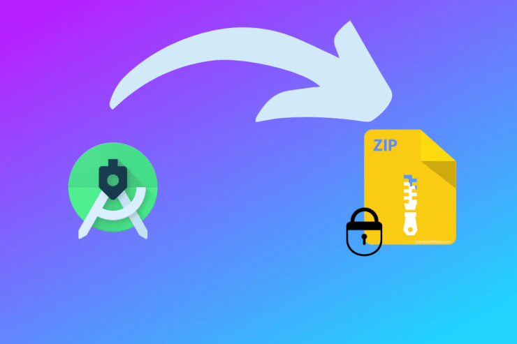 Password Lock Zip File on Android