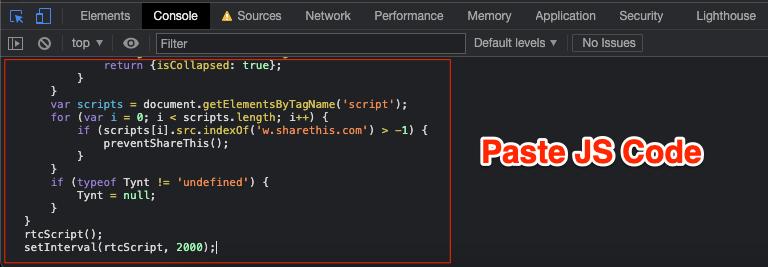 Paste_JS_Code
