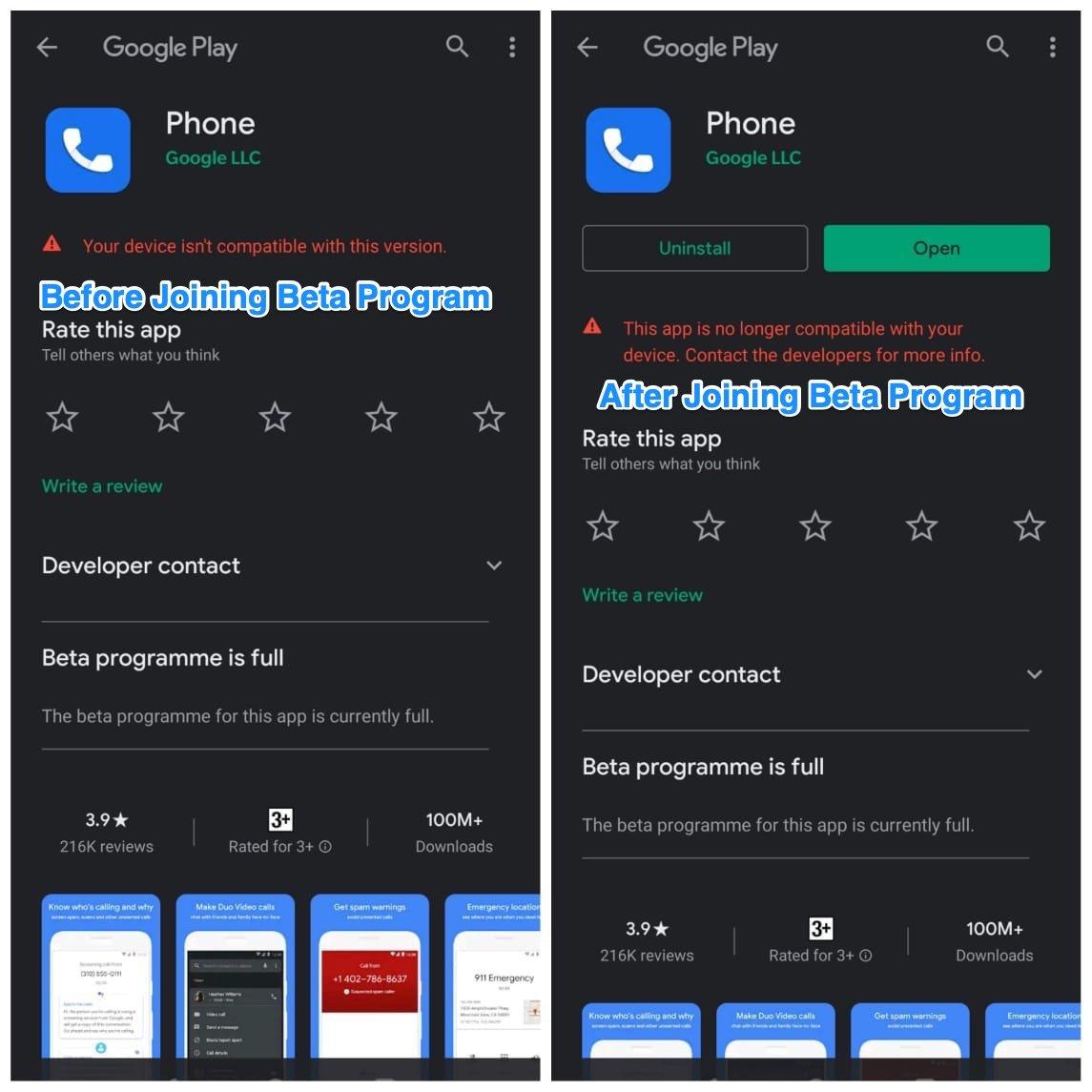Phone Dialer App Play Store