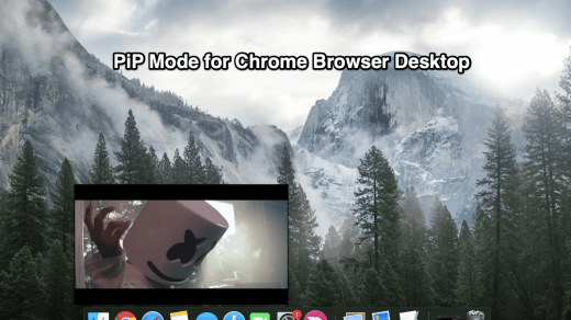 PiP Mode for Chrome Browser Desktop