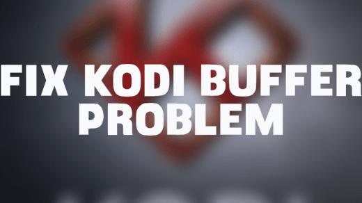 Stop buffer on Kodi Krypton