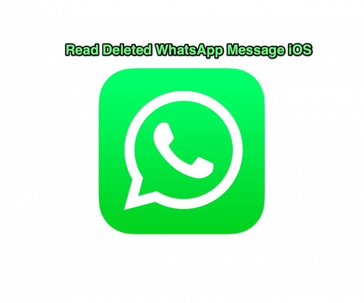 Read Deleted WhatsApp iOS
