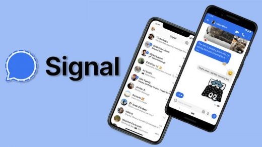 Record Signal Messenger App Call