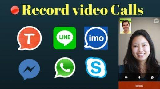 Record Video Chat calls Android