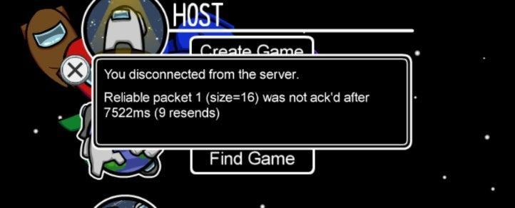 Reliable Packet Size 16