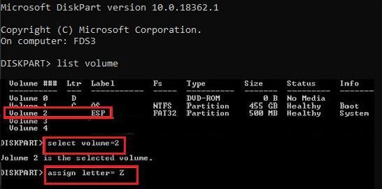 Repair BCD and Winload.efi File