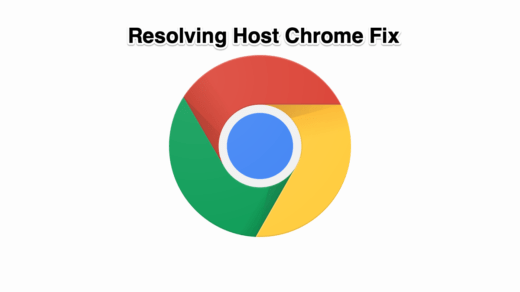 Resolving Host Google Chrome
