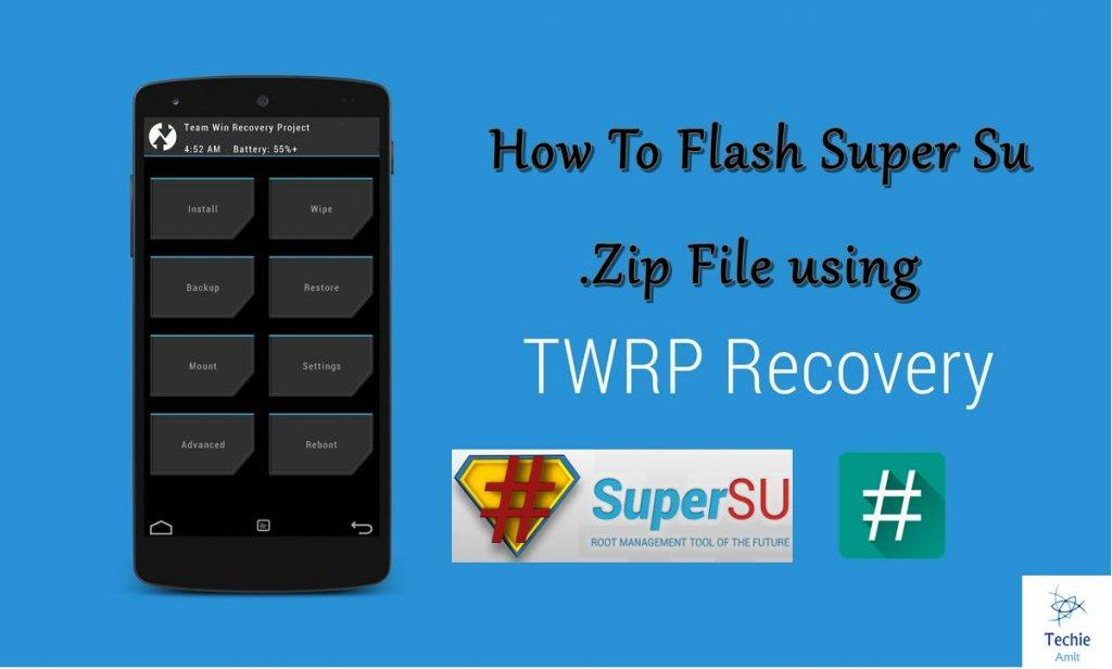 Root using TWRP