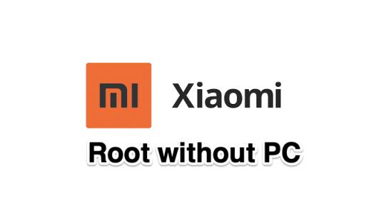 Root Xiaomi Mi Redmi without PC