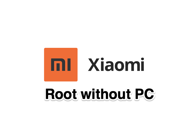 Root Xiaomi Mi Redmi without PC