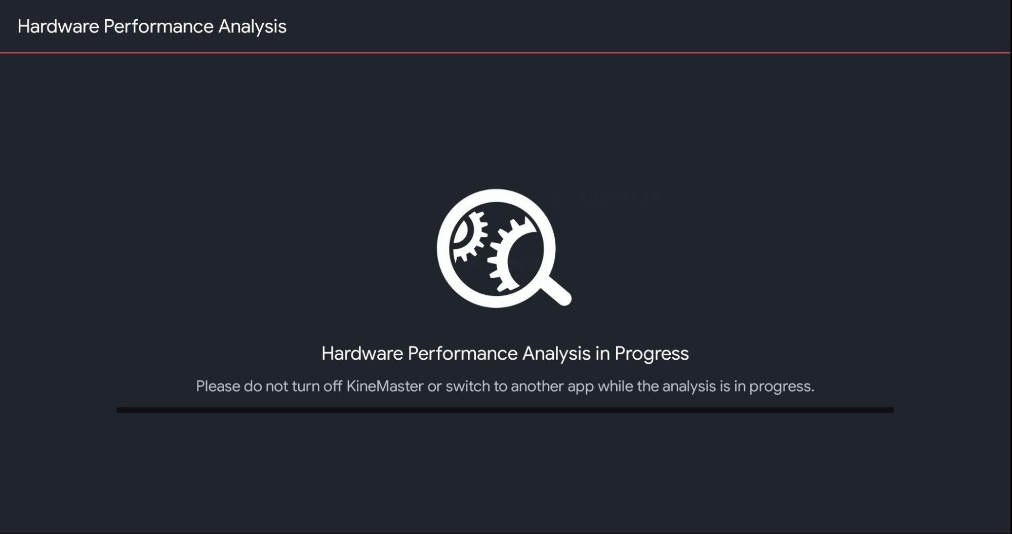 Run Hardware Analysis