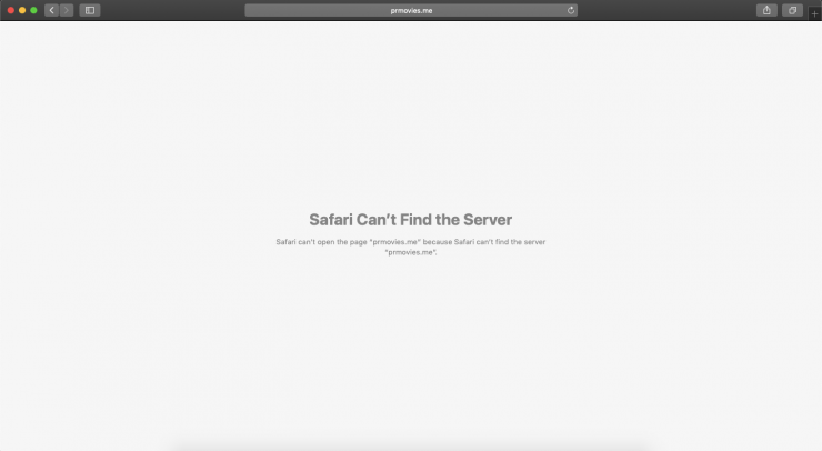 Safari Can't Find the Server Error Macbook