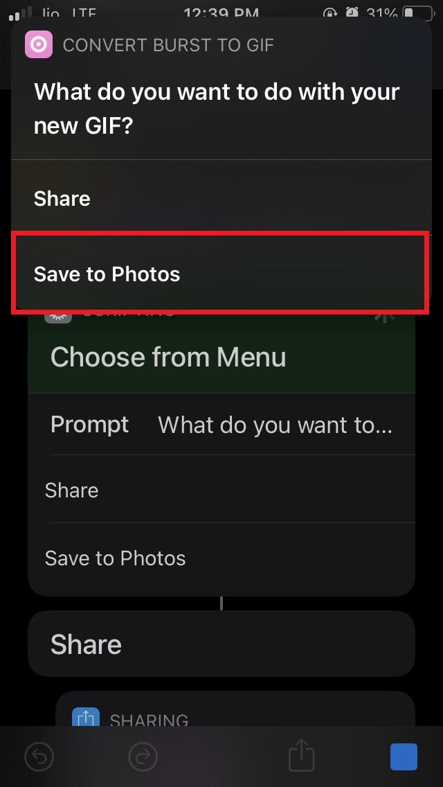 Save to Photos