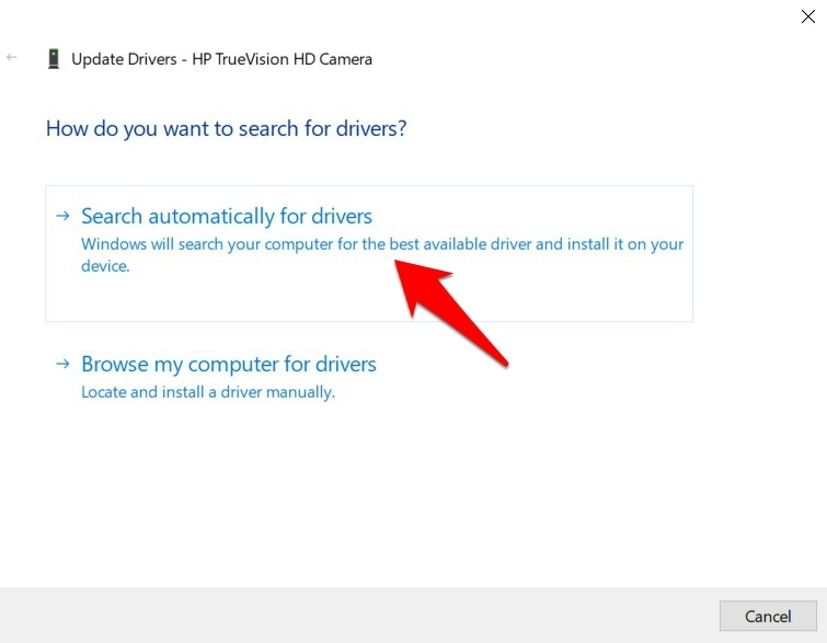 Search for Drivers