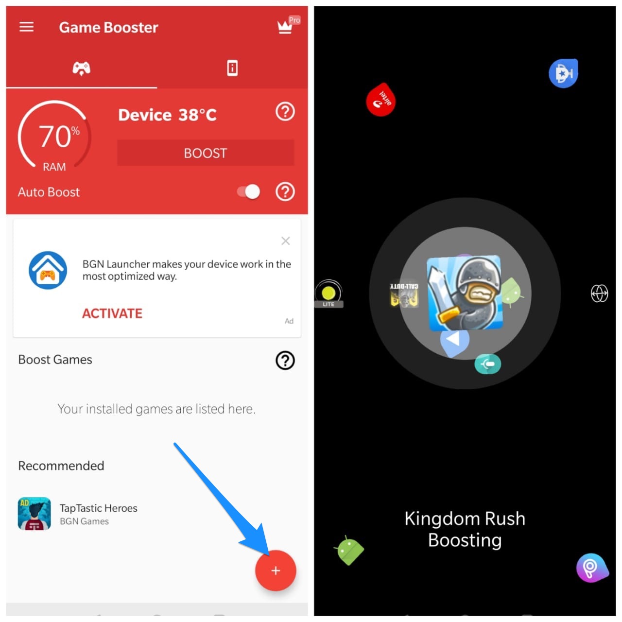 Select App Settings and More
