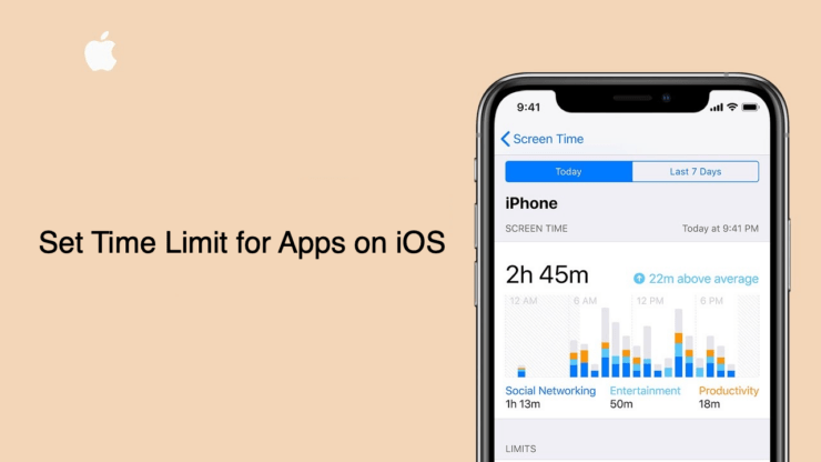 Set Time Limit for Using Apps on iPhone