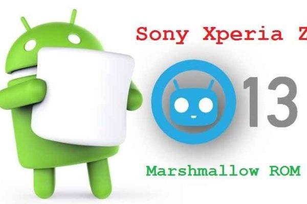 Sony Xperia Z5 CynogenMod 13 ROM