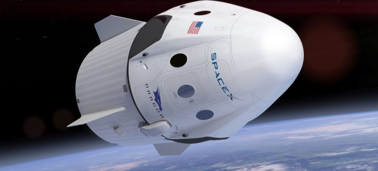 SpaceX Dragon Ship Launched