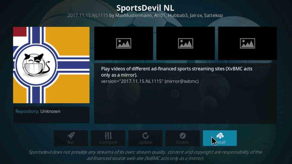 SportsDevil NL
