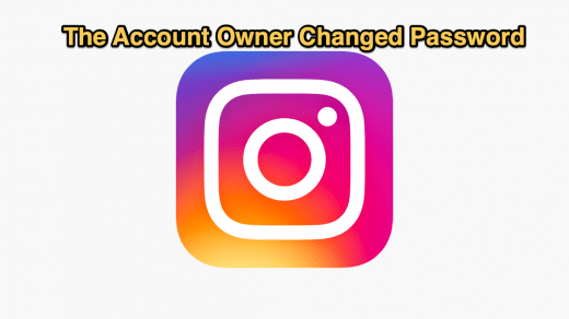 The account owner may have changed the password Fix