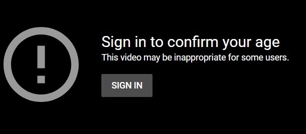 This video may be inappropriate for some users.