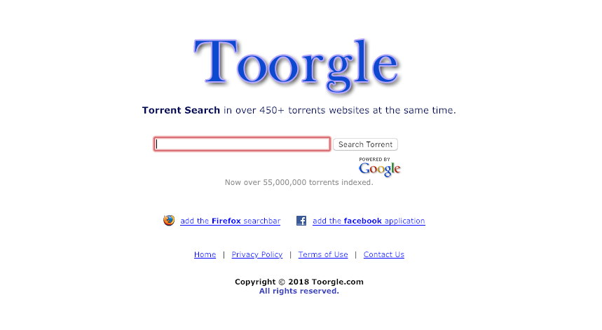 Toorgle.com: Torrent Search Engine
