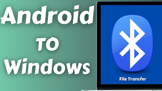 Transfer files from Android to Windows