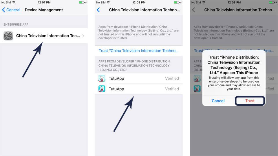 Trust Tutu App