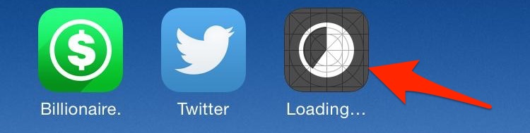 TuTuApp Loading App Drawer