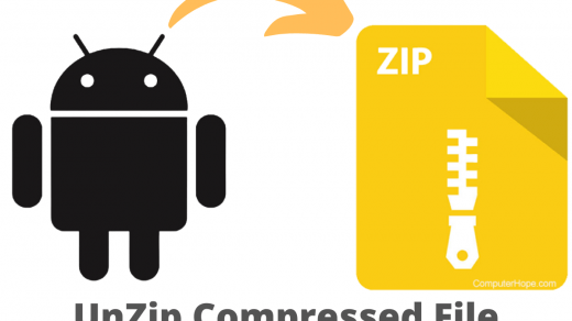 UnZip Compressed File Android
