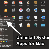 Uninstall System Apps for Mac