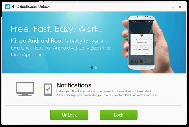 Unlock Bootloader HTC