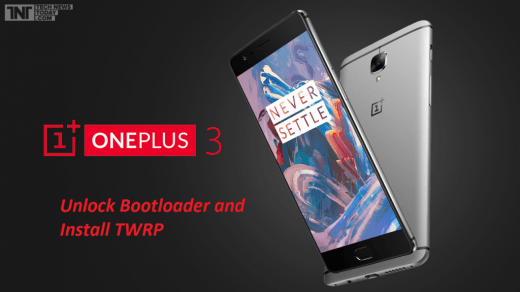 Unlock Bootloader and Flash TWRP OnePlus 3