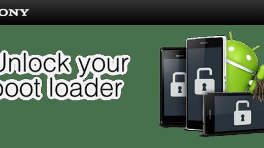 Unlock Bootloader Xperia