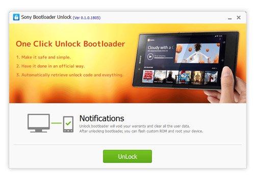 Unlock bootloder