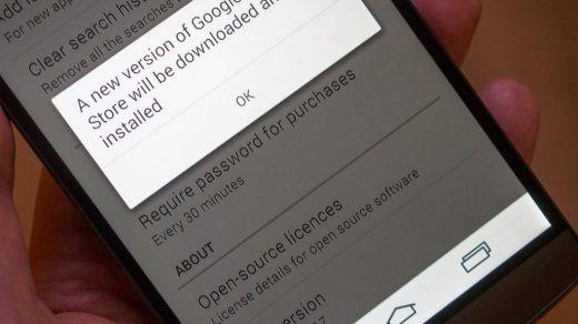 Update Google Play Store to Latest version