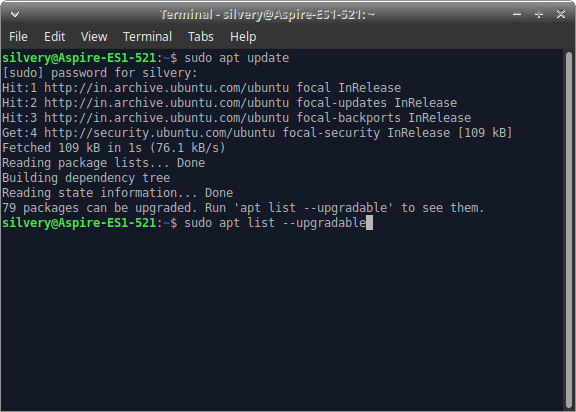 Update Linux OS from Terminal - 5