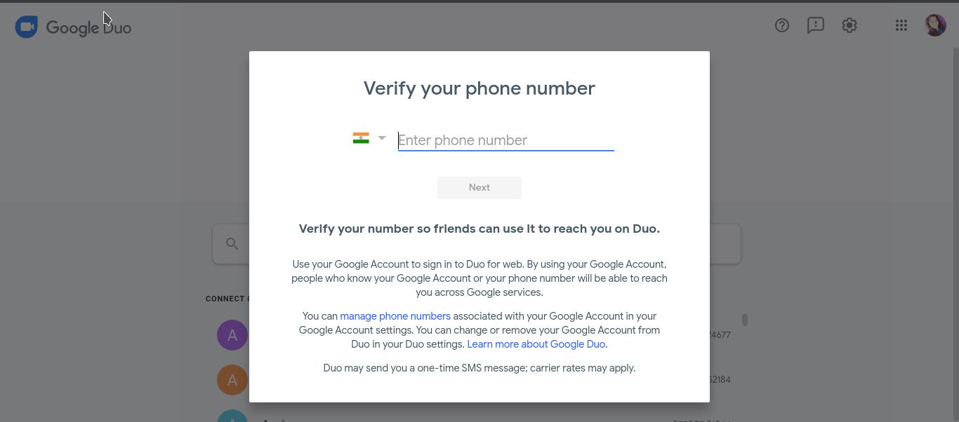 Verify Number