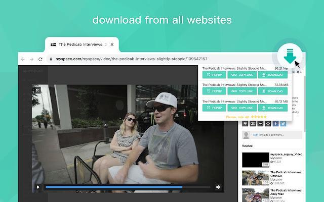 Video Downloader for Web