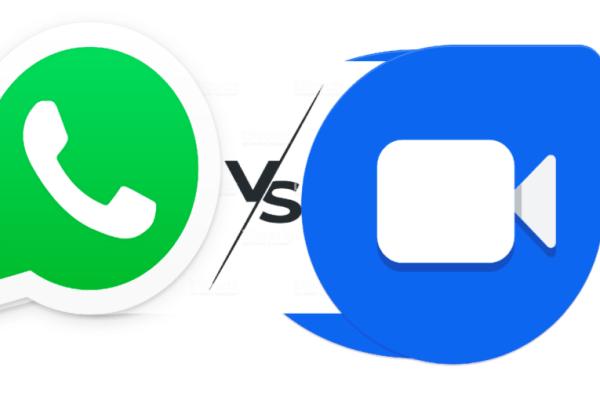 WhatsApp Vs. Google Duo