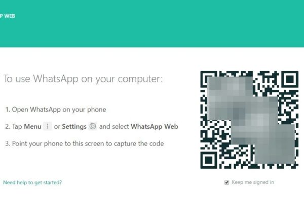 WhatsApp Web Login QR Code